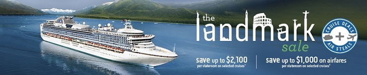 Bonus DEFCOM discount off Princess Cruises booked with Holidays Direct