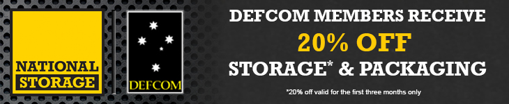 20% OFF* at National Storage for DEFCOM members
