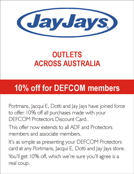 10%  OFF* at Jay Jays