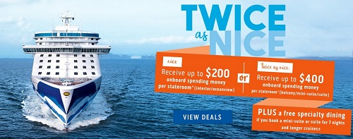 Princess Cruises Sale is on now